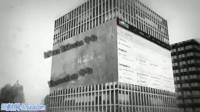 《凌乱视觉开场》会声会影模板公司企业广告电子相册宣传片头片尾