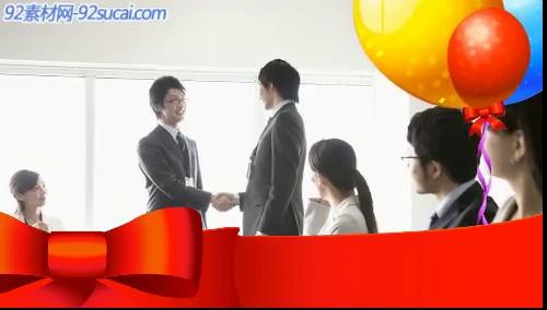 《商务模板》会声会影模板公司企业广告电子相册宣传片头片尾素