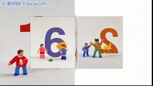 《旋转木马》会声会影模板公司企业广告电子相册宣传片头片尾素材