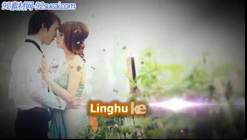 《浪漫枫叶》会声会影模板公司企业广告电子相册宣传片头片尾素材