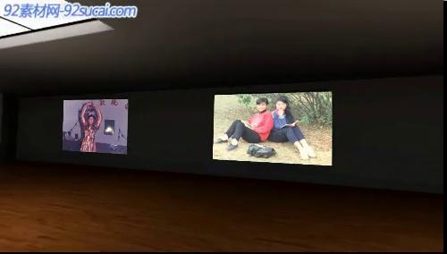 《摄影艺术展览》会声会影模板公司企业广告电子相册宣传片头片尾