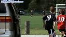 踢足球1 高清实拍视频素材