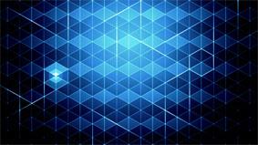 藍色格子背景 Midnight Communication高清動態視頻素材