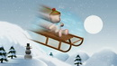风雪中荡漾 高清动态视频素材