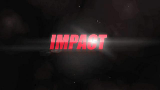 《烟雾光线文字图文展示AE模板》Impact