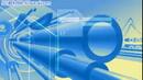 藍色管道運動 科技生產背景 高清動態視頻素材
