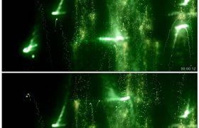 酷炫暗绿粒子飞舞闪光背景3 高清动态视频素材