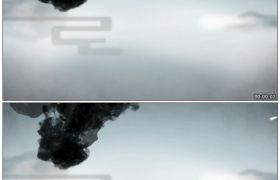 竹露荷风3 墨迹滴落中国风高清动态视频素材