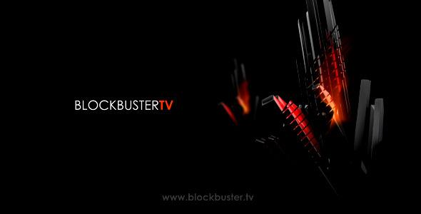 《时尚大片图文展示AE模板》Blockbuster