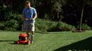 割草机割草 高清实拍视频素材