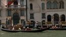 国外旅游景点 小船划过 高清实拍视频素材