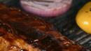 厨师烤肉调味 高清实拍视频素材