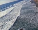 海边激起的层层浪花 高清实拍视频素材