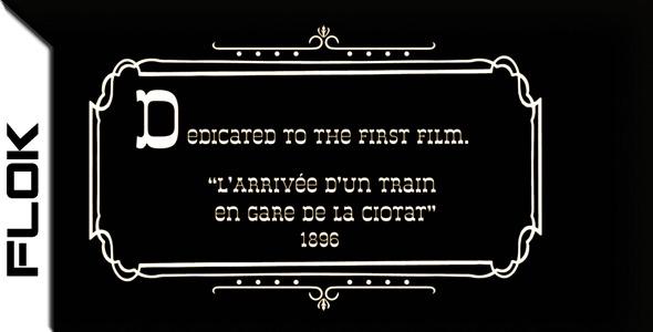 《复古影戏视频图文展现AE模板》First Film