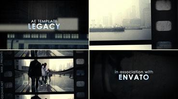 《胶片相册转换展现AE模板》Legacy