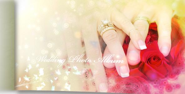 《婚慶相冊展示AE模板》Wedding Photo Album And Slideshow