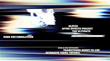 70个影戏失真毛病预设AE殊效包 The Ultimate Glitch + 70 Preset