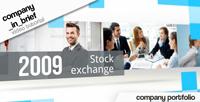 《简单商务企业宣传图文展示AE模板》Company in Brief