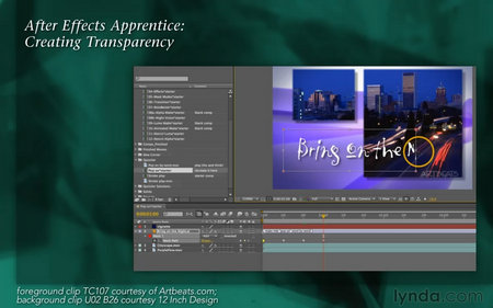 《AE增加透明度教程》After Effects Apprentice 05: Creating Tr