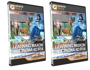 Cinema4D技能训练视频教程 InfiniteSkills Learning Maxon Cinem