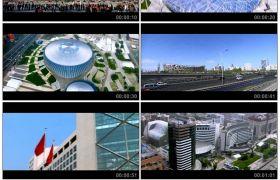 北京城市人文风情高清风光天安门鸟巢水立方央视大楼等标志性建筑