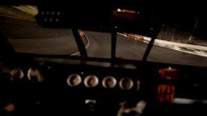 赛车过程快速行驶实拍公路镜头