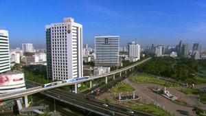 亚洲城市高清实拍-城市轻轨