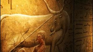 埃及的异域风情-壁画文字实拍