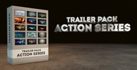 《15个差别的字幕展现 AE模板》Trailer Pack - Action Series