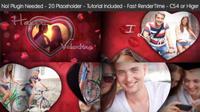 爱心情人节相册AE模板 Valentine's Day