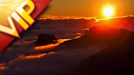 萨尔瓦多切洛的拉帕尔马奇幻云海璀璨星空旅游风光