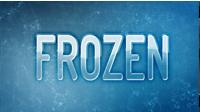 冻结标志LOGO动画展示AE工程及视频教程 Freezing-Ice Animation
