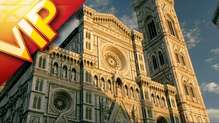 佛罗伦萨优美的日落余晖