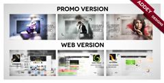公司企业产品宣传片 商务图文栏目包装展示AE模板 Dual Impact