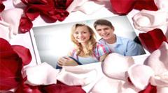 浪漫的花瓣爱情回忆电子相册AE模板 Precious Memories
