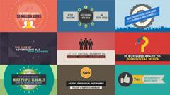 现代社会来往网络媒体公司推广AE模板 Social Media Agency Opene