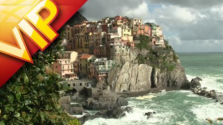意大利五渔村碧海奇峰旅游风光