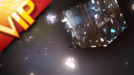 41组炫丽银色科技金融方块破碎工厂设备转动动态视频背景合集