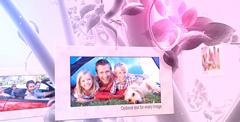 记忆中的树林婚礼儿童家庭AE模板 Photo Album Summer Memories