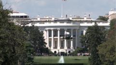 美国白宫前直升飞机起飞