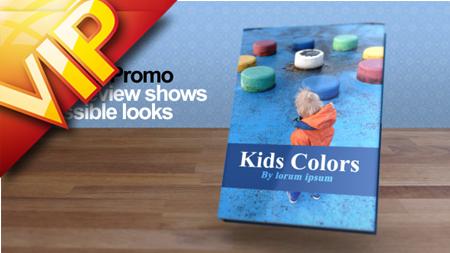 三维书籍图书推广宣传动画AE模板 My Book Promotion