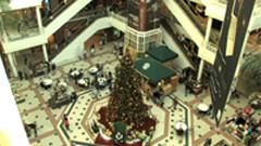 商场人物快速走动繁忙 购物休闲的人们 商场内部景象高清实拍