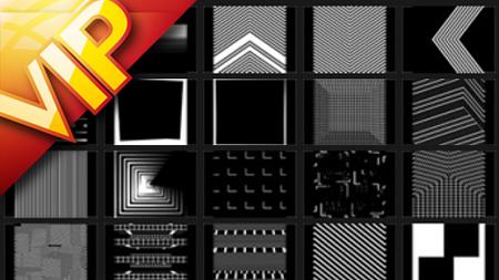 20段高清立方体动画VJ视频素材 Resolume - VJ Footage: Cuboid