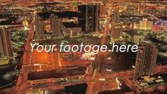 切割文字字幕風格電影預告片城市形象宣傳片AE模板 Dissector
