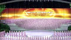 2组上海世博会开幕式精美镜头 标清实拍