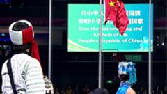 上海世博会 标清实拍升旗仪式