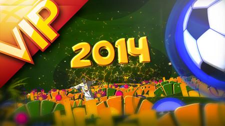 巴西世界杯足球比賽 足球電視欄目包裝AE模板 Brazil Soccer 2014