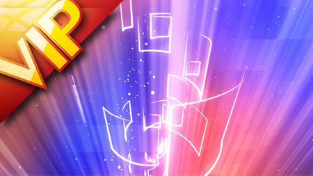 42组高科技迷幻炫紫光效粒子动态背景素材