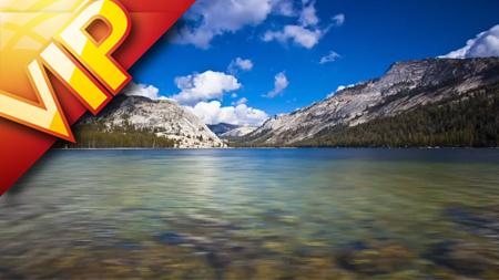 优越美地国度公园云海顶峰丛林灿烂星空大美天然风景
