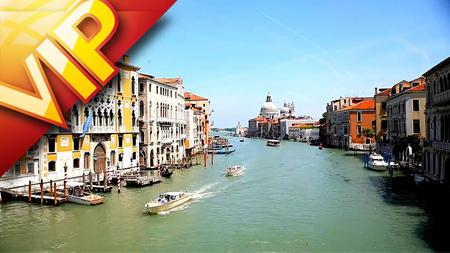金碧辉煌的威尼斯布拉诺岛水城划船多彩建筑微醺海景